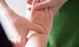 Bowenwork on wrist